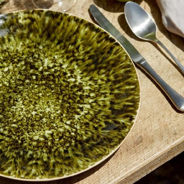"Тарелка ""Riviera"" 310мм темно-зеленая"
