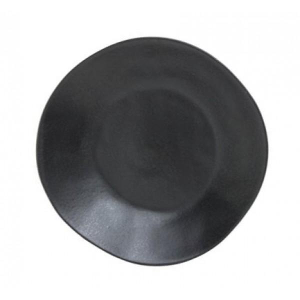 "Тарелка глубокая ""Riviera"" 255мм черная"