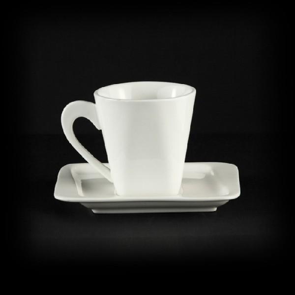 Чайная пара квадратная «Sam&Squito» 170 мл