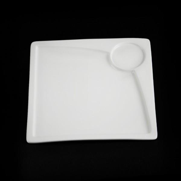 Блюдо для стейка квадратное «Sam&Squito» 245 мм