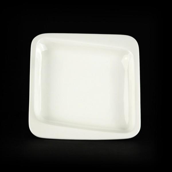 Тарелка глубокая квадратная «Sam&Squito» 175 мм