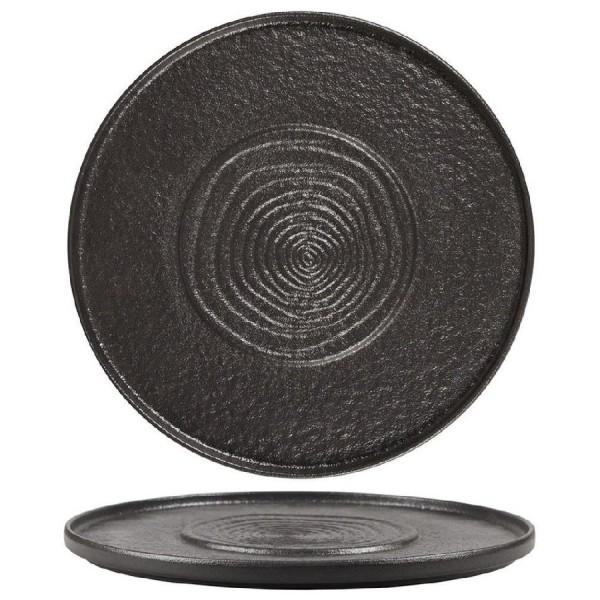 Блюдо круглое Black Star 300 мм
