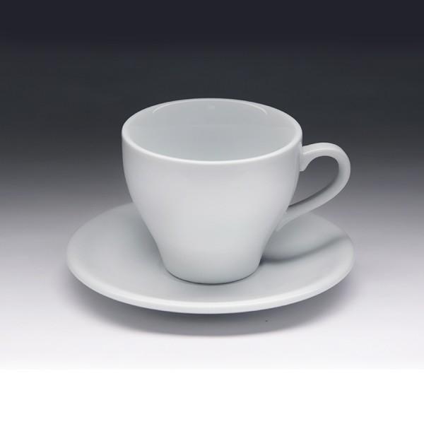 Чайная пара с круглым блюдцем «Collage» 150 мл