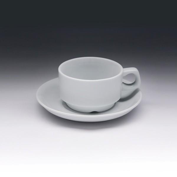 Кофейная пара с круглым блюдцем «Collage» 100 мл
