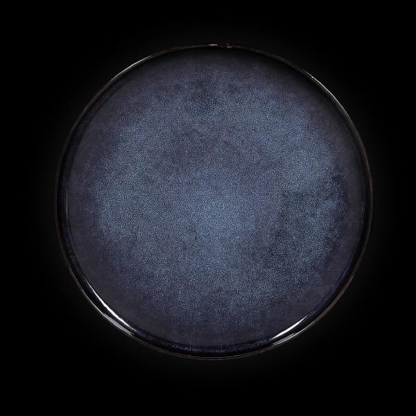Тарелка с бортом «Celeste» 220 мм синяя