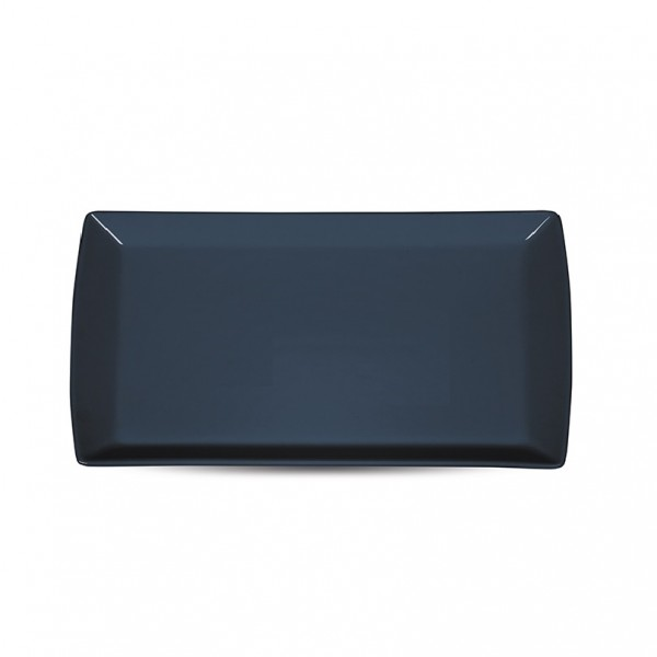 Блюдо прямоугольное «Corone» 200х115 мм синее