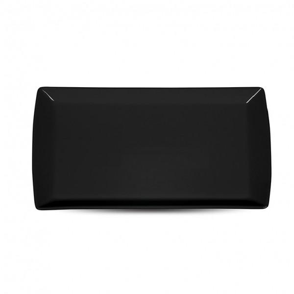 Блюдо прямоугольное «Corone» 200х115 мм черное