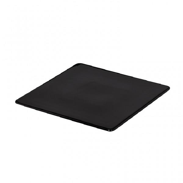 Блюдо квадратное «Corone» 255х255 мм черное