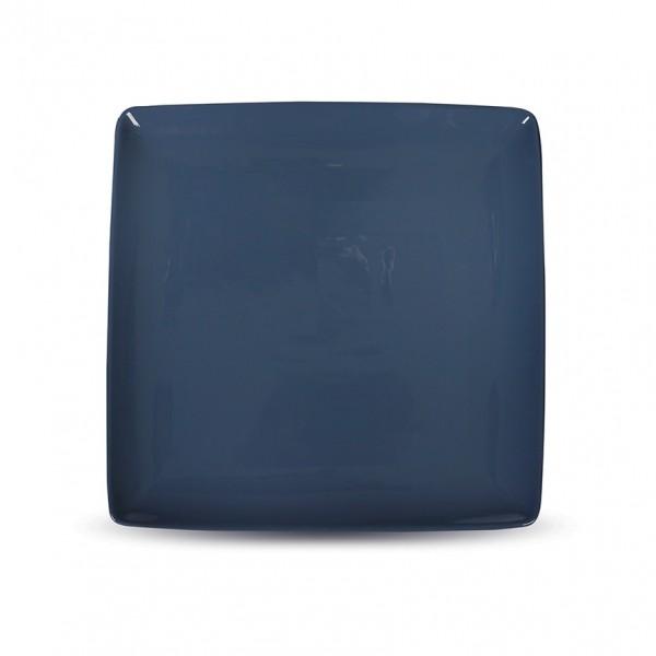 Блюдо квадратное «Corone» 265х265мм синее
