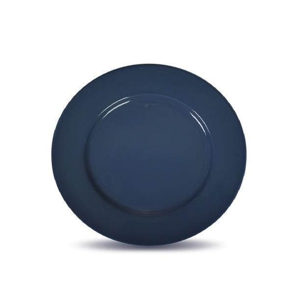Тарелка мелкая «Corone» 230 мм синяя