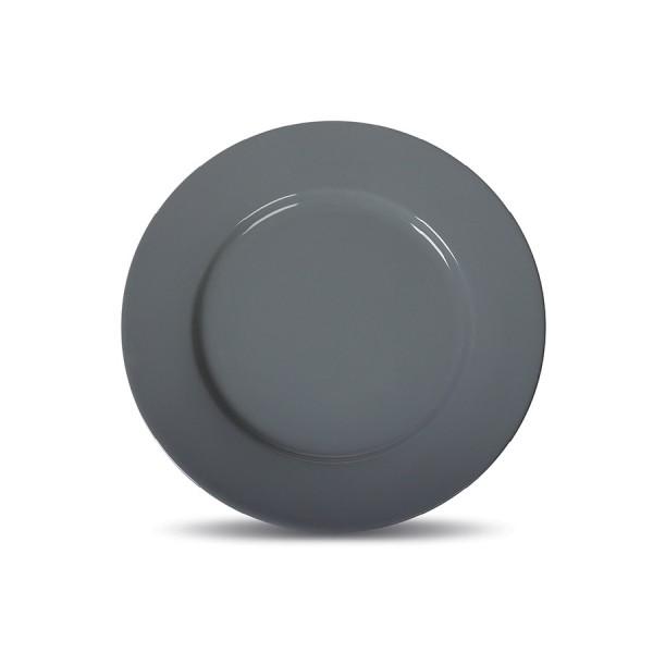 Тарелка мелкая «Corone» 200 мм серая