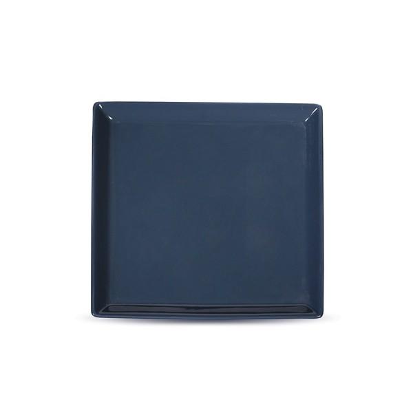 Тарелка квадратная «Corone» 170 мм синяя