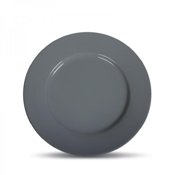 Тарелка мелкая «Corone» 250 мм серая