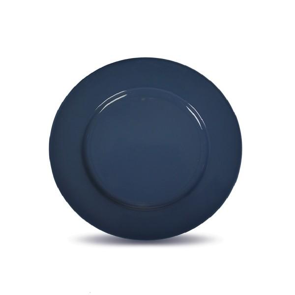 Тарелка мелкая «Corone» 200 мм синяя