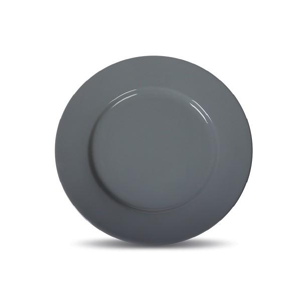 Тарелка мелкая «Corone» 160 мм серая