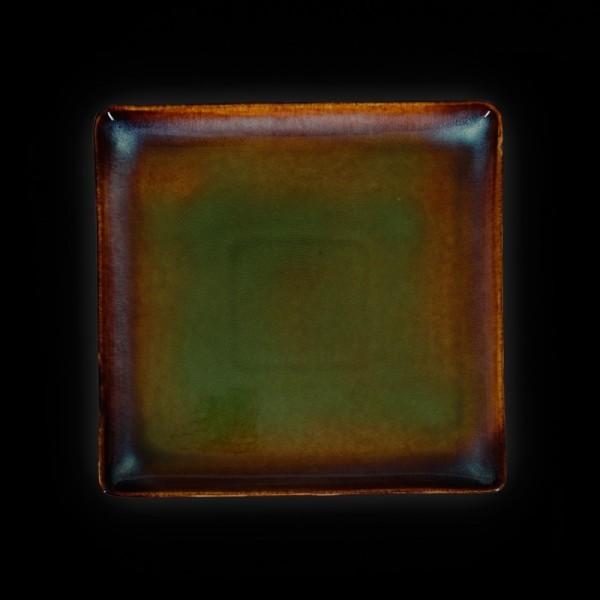 Тарелка квадратная «Verde» 270 мм