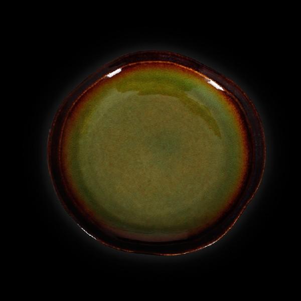 Тарелка мелкая «Corone Verde» 210 мм