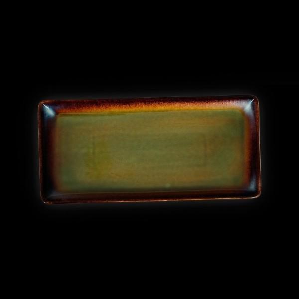 Блюдо прямоугольное «Verde» 340х160 мм