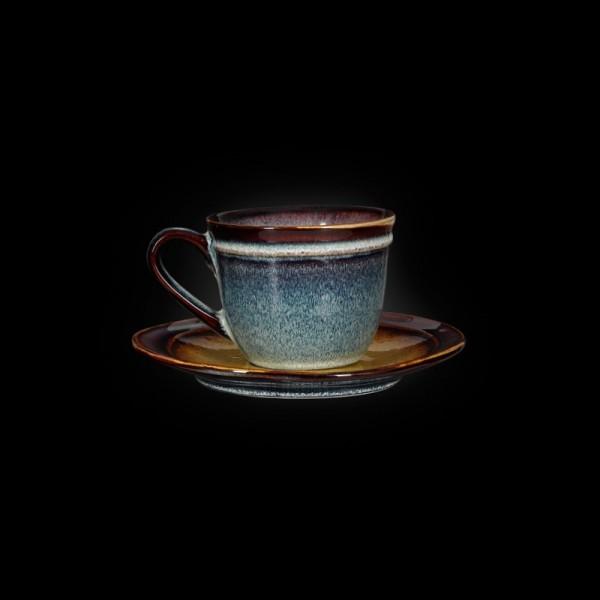 Чашка с блюдцем «Verde» 210 мл
