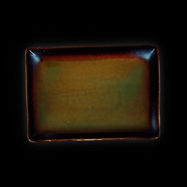 Блюдо прямоугольное «Verde» 230х160 мм