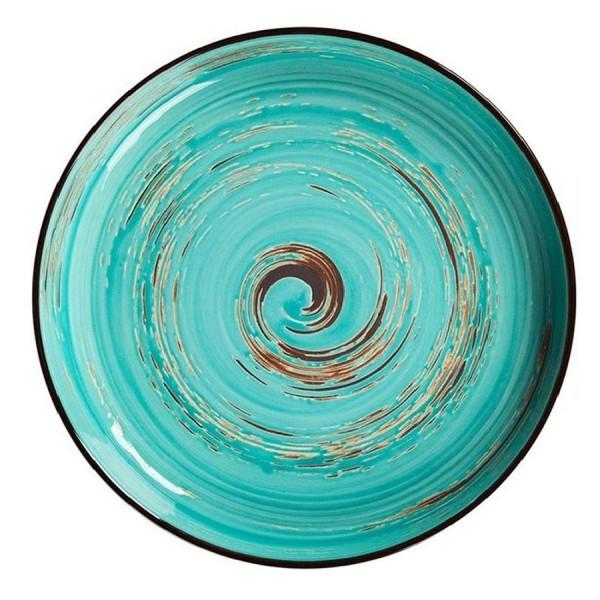 Тарелка с бортом Texture Light Cyan Circular 230 мм