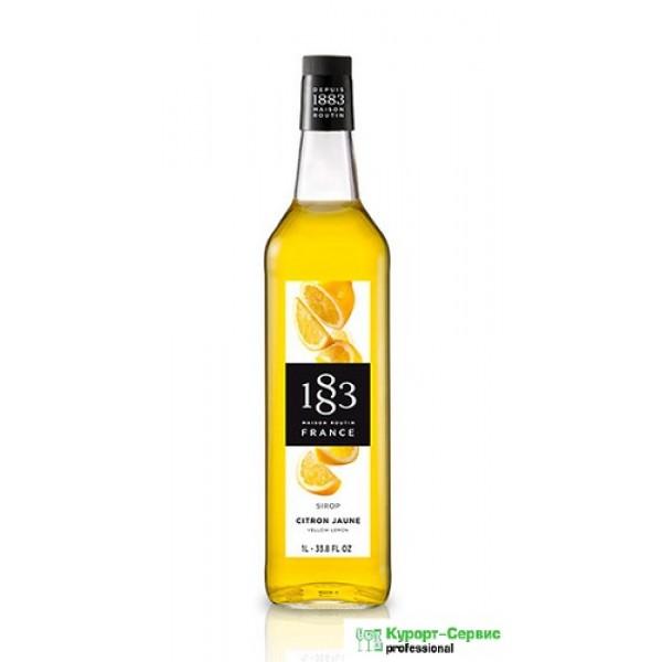 """1883Сироп """"Желтый лимон"""""""
